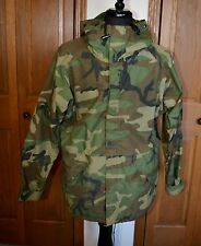 Men's Military Rain Trench coat MED Camouflage Cold Weather PARKA Waterproof