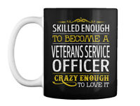 Veterans Service Officer Love It Gift Coffee Mug
