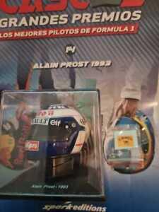 Helmet 1/5 Alain Prost (1993) Spark Editions -1:5 -Helmets Gran Prix - F1
