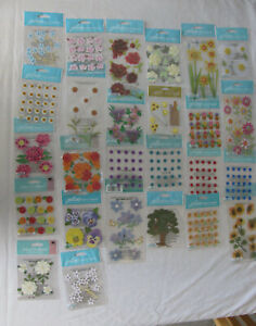 Jolee's Boutique Stickers U PICK Flowers and Trees NIP FREE SHIPPING