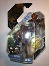 Star Wars 30th Anniversary Series Concept Chewbacca figure & Gold coin