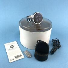 Motorola - Moto 360 2nd Gen Women's Smartwatch 42mm Silver Stainless Steel