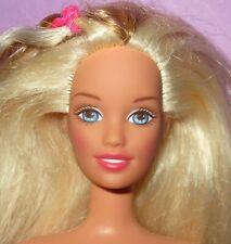 Barbie Skipper Teen Sister Blonde Hair Long Blonde Hair Doll for Ooak or Play