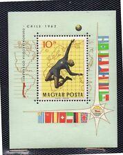 Hungria Deporte Mundial Futbol Chile año 1962 (DH-103)