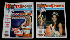 2 Vtg Hooters Newspaper Hoot Air Sexy Bikini Contest Girls Sports News Racing