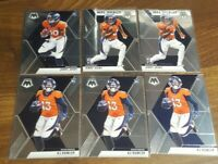 Jerry Jeudy Mosaic Base + NFL Debut + KJ Hamler #206 #219 Broncos Rookie WRs RC