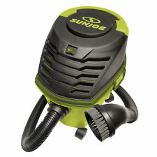 Sun Joe Ultra-Portable Wheeled Wet Dry Vacuum | 2.6 Gallon | Accessories Incl