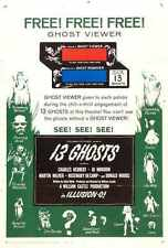 13 Ghosts Poster 02 Metal Sign A4 12x8 Aluminium