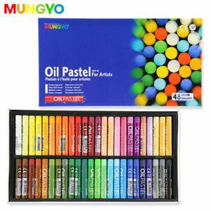 48 Brilliant Colours! Mungyo Artists Large Soft Oil Pastels Sticks Art Pastel