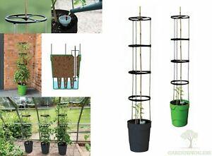 Self Watering Tower Grow 11L Pot Tomatoes Peppers Sweet Peas Hydroponics 4L Tank