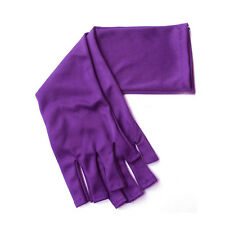 Purple UV Protection Nail Art UV Gel Anti-ultraviolet Gloves Pro Manicure Tool