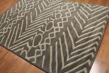 6' x 9' Handmade 100% wool Area rug Modern 6x9