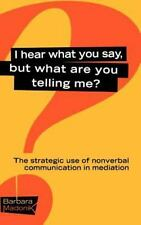 I Hear What You Say, but What Are You Telling Me? : The Strategic Use of...