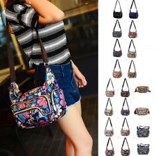 Women Multi Pocket Messenger Cross Body Handbag Ladies Hobo Bags Shoulder Bag A