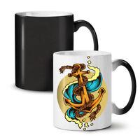 Sea Marine Anchor Fashion NEW Colour Changing Tea Coffee Mug 11 oz | Wellcoda