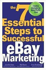 Book PB, NEW The 7 Essential Steps to Successful eBay Marketing Janelle Elms