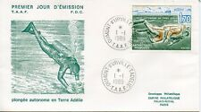 FDC / T.A.A.F. TERRES AUSTRALES TIMBRE N° 146 / FAUNE /