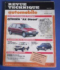 Revue technique  RTA 503 Citroen AX diesel