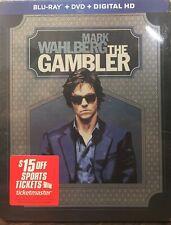 The Gambler Blu-ray + DVD + Digital HD Steelbook NEW SEALED