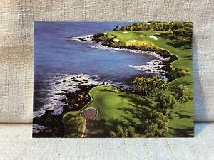 Dave Chapple Mauna Kea Beach Hotel Hawaii Golf 10 Note Cards & Envelopes Card