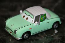 "DISNEY PIXAR CARS 2 ""DENISE BEAM - VELOSO'S BIGGEST FAN"" LOOSE, RARE, SHIP WW"