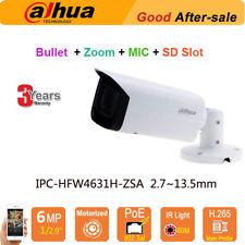 Dahua IPC-HFW4631H-ZSA 6MP HD Mic IR 80M POE Security IP Camera Zoom 2.7~13.5mm