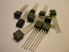( 25 PC. ) NATIONAL AP340LA-5.0 VOLTAGE REGULATOR 5 VOLTS AT 100MA, TO92, NEW