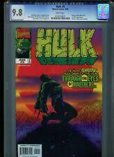 Hulk #5 CGC 9.8 (1999) Vision Scarlett Witch Iron Man White Pages Highest Grade