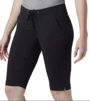 Columbia Women's Anytime Outdoor Long Short, Black, Size 2 13L