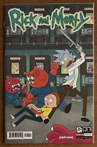Rick And Morty #1 First Print High Grade Oni Press Cannon Cover & Art