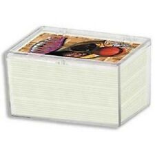 (5 Box Lot) Ultra Pro 100-Card Hinged Plastic Boxes Holders For Trading Cards