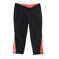 Old Navy Active Fitted Activewear Leggings Pants Black Pink Womens Size Medium