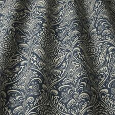 Iliv Cotswold Hathaway Indigo William Morris Style Curtain/Upholstery Fabric