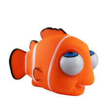 Funny ! Zoolife Nemo Soft Plastic Stress Reliever Pop Out Eyes