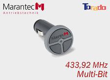 Marantec digital 323 Handsender Zigarettenanzünder 433 MHz Funk Teckentrup Tor