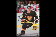 Rare PAVEL BURE 1993 Vancouver Canucks Vintage NHL Hockey Starline POSTER