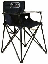 Navy Blue Folding Portable Travel High Chair Camping Chair * video Ciao! Baby
