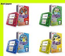 2DS Pokemon Red  Green Blue yellow pikachu console Nintendo Japan center