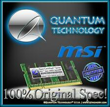 8GB RAM MEMORY FOR MSI CX70 0NC 0ND GE60 GE70 GT60 0NE GT70 GX60 DDR3 NEW!!!