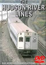 Metro North Hudson River Lines DVD NEW Amtrak Turbo Hudson River Croton-Harmon