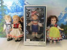 Vintage Ginny Doll Austrian Boy in Box +3 Ginny Dolls, All from Far Away Lands