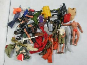 Assorted Mego, GI Joe Clothing and Accessory Lot