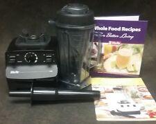 Vita-Mix 5000 Black Total Nutrition System Blender With Recipes Model VM0103