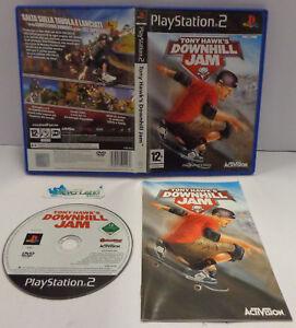 Console Game Gioco SONY Playstation 2 PS2 PAL ITALIANO  TONY HAWK'S DOWNHILL JAM