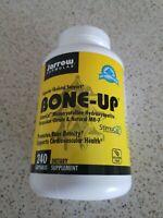 Bone-Up Jarrow Formulas 240 Caps Expires 08/21 Sealed