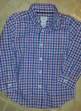 Dressed Up by Gymboree Boy's Size XS(4) Button Long Sleeve EUC Shirt