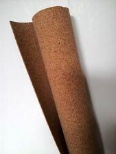 "Cork Sheet: 1.5x610x915mm 1/16x24x36"" model railway underlay scenery roll Tasma"