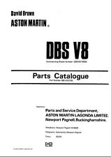 ASTON MARTIN DBS V8 1969-1972 PARTS MANUAL REPRINTED A4 COMB BOUND 194 PAGES
