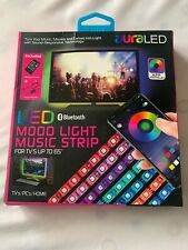 Tzumi Aura Led Mood Light Music Strip New In Box Free Shipping MRSP $19.99
