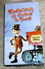 Santa Claus Is Comin' to Town VHS Christmas Classic Fred Astair Mickey Rooney